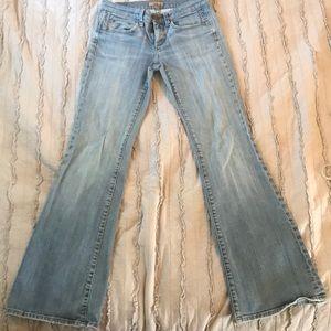 Women See thru Soul jeans